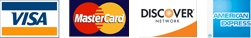 Accepted payment cards images