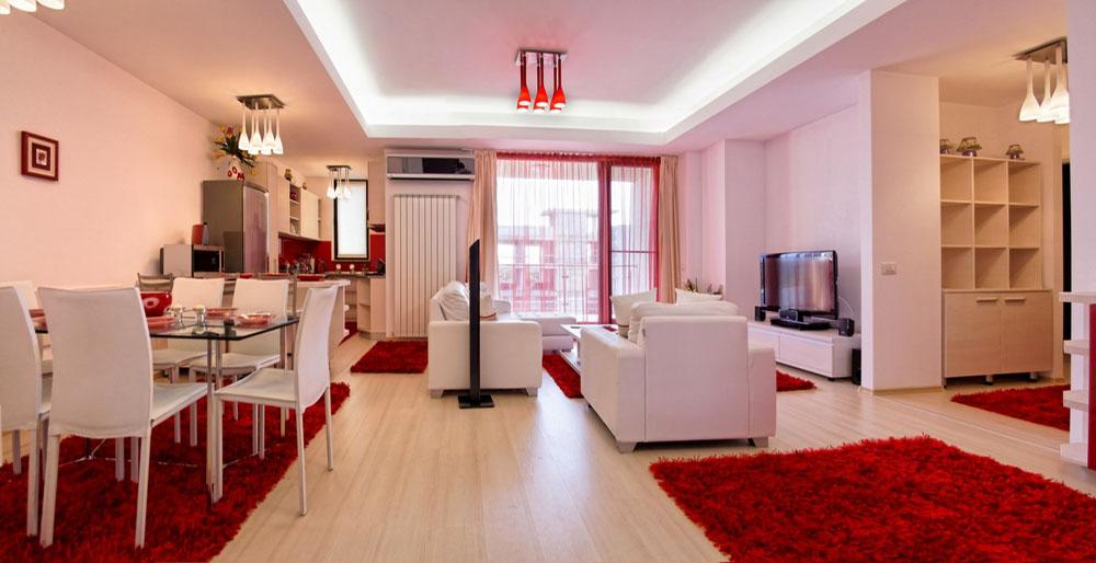 ...în apartamentele Suite Home.